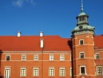 Castillo real en Varsovia, Polonia Imagen de archivo libre de regalías