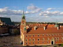 Castillo real en Varsovia, Polonia Imágenes de archivo libres de regalías
