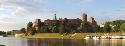 Castillo real Kraków Fotos de archivo libres de regalías