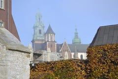 Castillo real, Kraków Foto de archivo libre de regalías