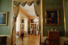Castillo real Varsovia fotografía de archivo libre de regalías