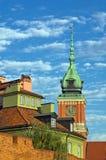 Castillo real - Varsovia Fotografía de archivo