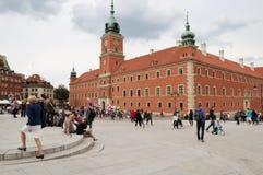 Castillo real, Varsovia Fotografía de archivo libre de regalías