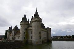 Castillo región del Sully-sur-Loira, el Loira, Francia foto de archivo