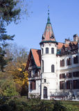 Castillo romántico fotos de archivo