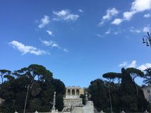 Castillo romano Foto de archivo