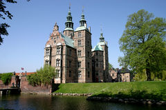 Castillo Rosenborg en Copenhague foto de archivo libre de regalías