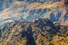 Castillo Ruffo de Amendolea Foto de archivo libre de regalías