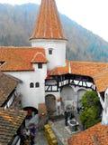 Castillo Rumania del salvado imagen de archivo libre de regalías