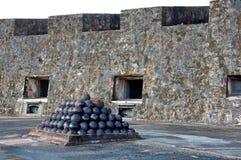 Castillo San Cristobal imagem de stock