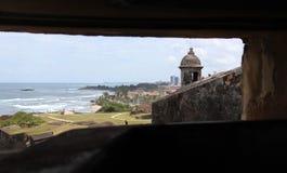 Castillo San Cristobal royalty free stock images