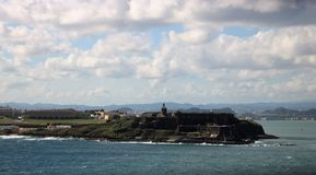 Castillo San Cristobal, Porto Rico photo libre de droits