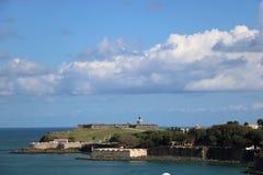 Castillo San Cristobal, Puerto Rico Royaltyfria Foton