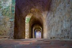 Castillo SAN Felipe Barajas, εντυπωσιακό φρούριο Στοκ φωτογραφία με δικαίωμα ελεύθερης χρήσης