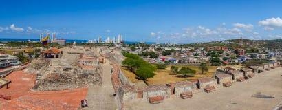 Castillo San Felipe Barajas, fortaleza impressionante Foto de Stock Royalty Free