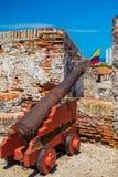Castillo San Felipe Barajas, imponująco forteca Zdjęcie Royalty Free
