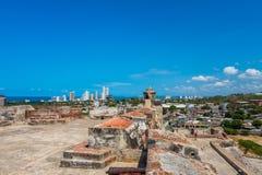 Castillo San Felipe Barajas, impressive fortress Royalty Free Stock Photo