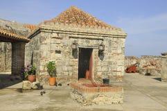 Castillo San Felipe de Barajas royaltyfri foto