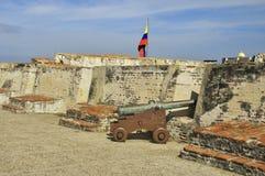 Castillo San Felipe de Barajas Zdjęcie Stock