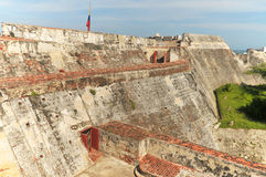 Castillo San Felipe de Barajas Royalty Free Stock Photo