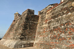 Castillo San Felipe de Barajas Royalty Free Stock Photography