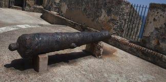 Castillo SAN Felipe del Moro San Juan Πουέρτο Ρίκο στοκ εικόνα