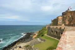 Castillo San Felipe del Morro, Сан-Хуан Стоковая Фотография RF