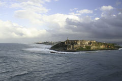 Castillo San Felipe del Morro Fotografia de Stock Royalty Free
