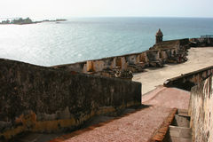 Castillo San Felipe del Morro Foto de archivo