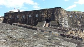 Castillo San Felipe del Morro Imagem de Stock Royalty Free