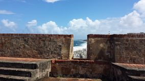 Castillo San Felipe del Morro Imagens de Stock Royalty Free