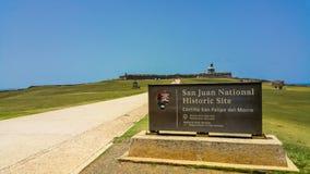 Castillo San Felipe del Morro images stock