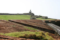Castillo San Felipe del Morro - San Juan PR Royalty Free Stock Photos