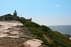 Castillo San Felipe del Morro - San Juan PR Royalty Free Stock Image