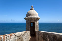Castillo San Felipe del Morro. Royalty Free Stock Images