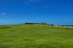 Castillo San Felipe del Morro. San Juan National Historic Site Stock Photos