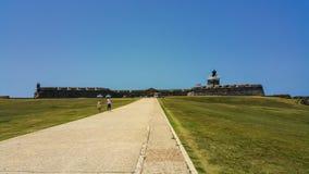 Castillo San Felipe del Morro. San Juan National Historic Site Royalty Free Stock Images