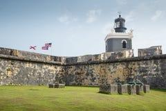 Castillo San Felipe del Morro in old San Juan, Puerto Rico Stock Photo