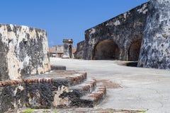 Castillo San Felipe del Morro, Porto Rico Fotos de Stock Royalty Free