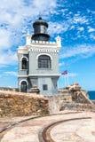 Castillo San Felipe Del Morrro, Oud San Juan, Puerto Rico Royalty-vrije Stock Foto
