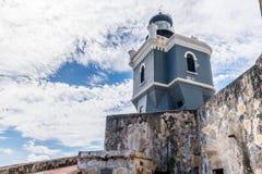 Castillo San Felipe Del Morrro, Oud San Juan, Puerto Rico Royalty-vrije Stock Foto's