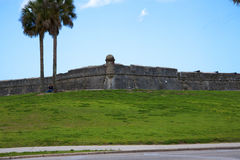 The Castillo of San Marco at St Augustine Florida USA Royalty Free Stock Images