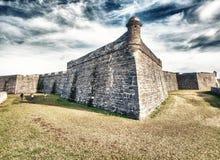 Castillo San Marcos, St Augustine, Florida.  stock photos