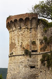 Castillo San medieval Gimignano Italia fotos de archivo