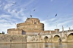 Castillo Sant Ángel fotografía de archivo libre de regalías