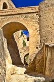 Castillo Santa Barbara Imágenes de archivo libres de regalías