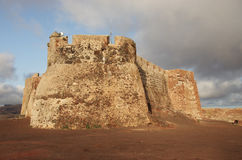 Castillo Santa Barbara, Mount Guanapay, Lanzarote Royalty Free Stock Photos