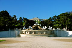 Castillo Schönbrunn, Gloriette Imagen de archivo libre de regalías