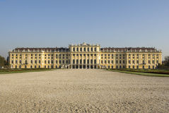 Castillo Schönbrunn, Viena fotos de archivo