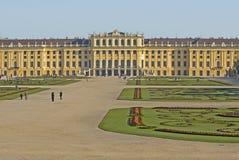 Castillo Schönbrunn, Viena foto de archivo